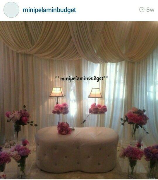 Cdt to owner | Pelamin Tunang & Nikah | Pinterest