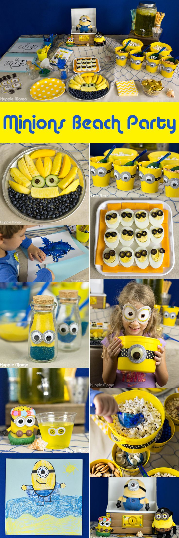 Minions Beach Party #MinionsMovieNight ad