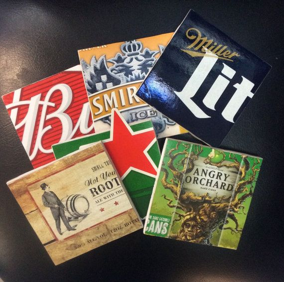 17 best images about beer coasters ideas crafts projects for Drink coaster ideas