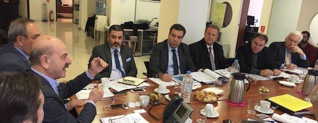 Συνάντηση εργασίας του Τομεάρχη Τουρισμού της Νέας Δημοκρατίας, κ. Μάνου Κόνσολα με τη FEDHATTA