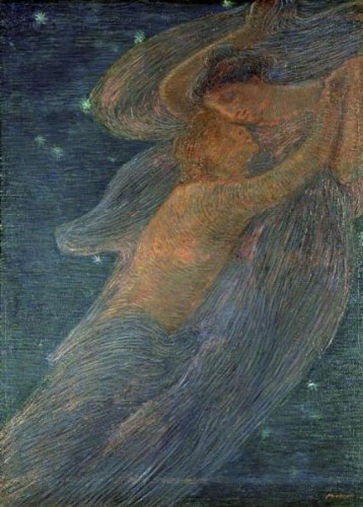 https://flic.kr/p/qeMDrC | Gaetano Previati (1852-1920) - Love, 1909
