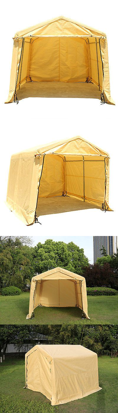Other Structures and Shade 177026: Portable Garage Storage Shed Auto Shelter Logic Canopy Carport Steel Cover Tent -> BUY IT NOW ONLY: $186.98 on eBay!