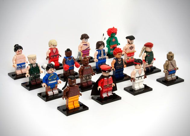Custom LEGO builder Julian Fong took over a year to create the custom LEGO Street Fighter mini set