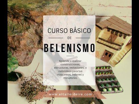 Curso básico de belenismo - Lección 3: IMITACIONES - YouTube