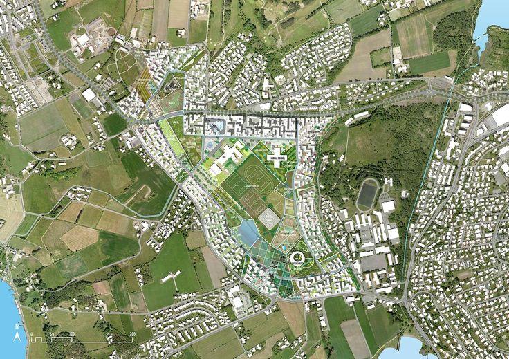 Madla-Revheim Masterplan Proposal,© MVRDV + Space Group