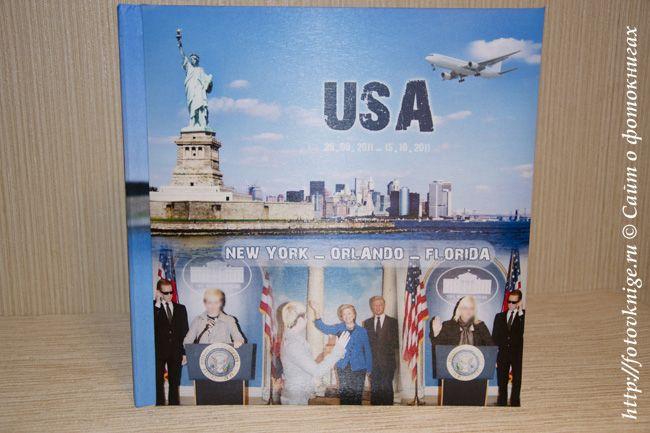 Фотокнига— путешествие в США