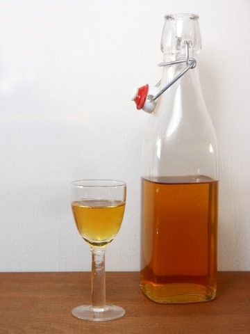 Homemade sinaasappellikeur - recept/recipe - Homemade orange liqueur