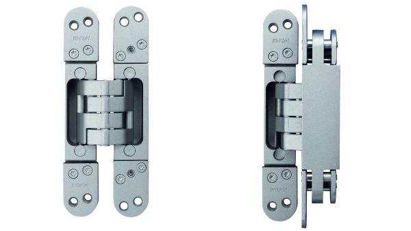 PIVOTA® DX - verdeckt liegende Türbander für stumpf einschlagende Türen