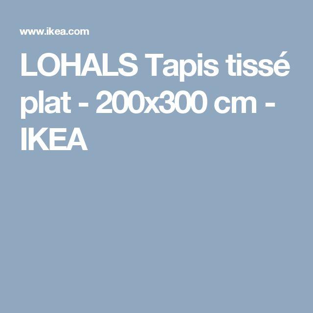 lohals tapis tiss plat 200x300 cm ikea - Tapis Color Ikea
