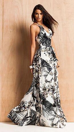 58a0996c0d vestido longo estampado preto branco
