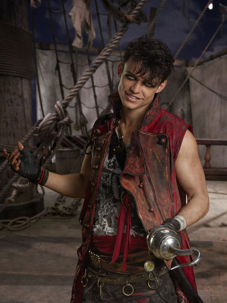 Harry Hook is the secondary antagonist who will appear in the upcoming sequel, Descendants 2. He is the son of Captain Hook and the brother of CJ and Harriet Hook.