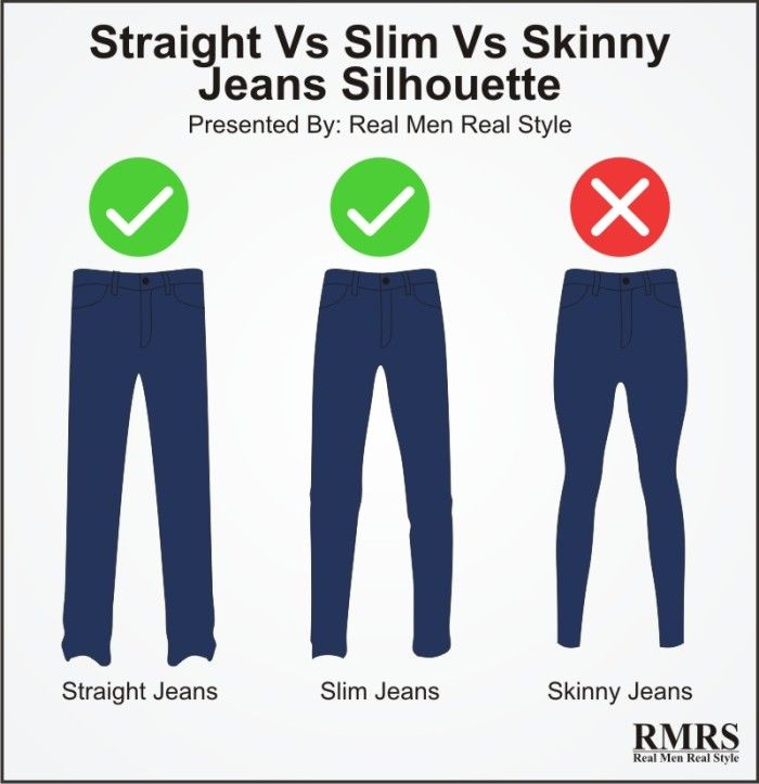 1. Skinny Jeans Do Not Create An Attractive Silhouette