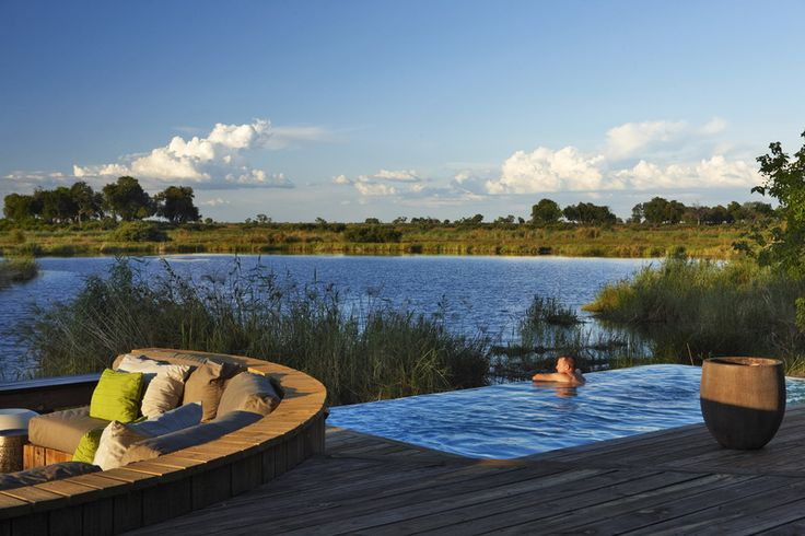 #KingsPool offers a once-in-a-lifetime #luxurysafari experience in #Africa. Spectacular views, abundant wildlife viewing. The #romance and charm of Kings Pool's spectacular location will capture your heart. #Botswana #Linyanti