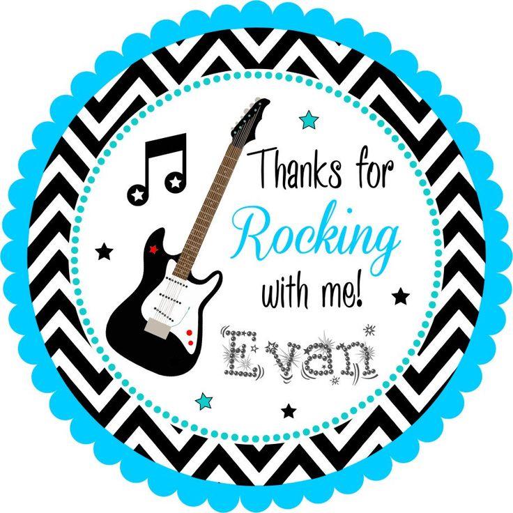 Pegatinas de estrellas de rock etiquetas por thepaperkingdom
