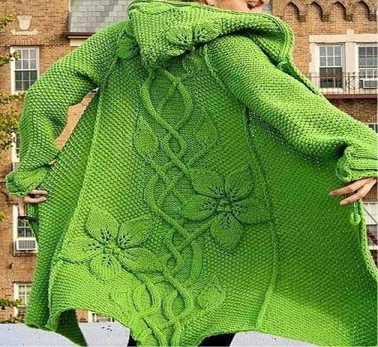 Beautiful Knitting coat - Free Crochet Patterns                                                                                                                                                                                 More