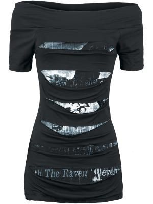 Nevermore - Alchemy England. Beautiful Edgar Allen Poe inspired dress :)