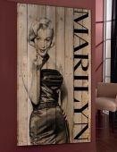 CUADRI VINTAGE CON PALETS : Modelo MARILYN VI. Top Home, il tuo negozio online. www.decorazioneon...