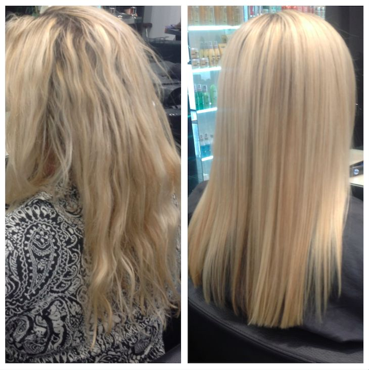 Before & After #MLBlondes