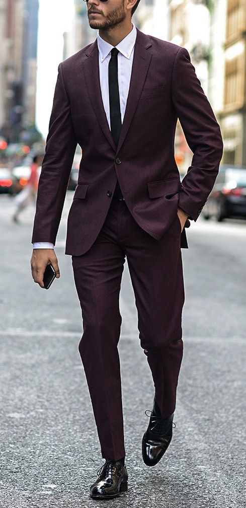 The Perfect Suit  Combination for Shirt, Shoes and Accessories!