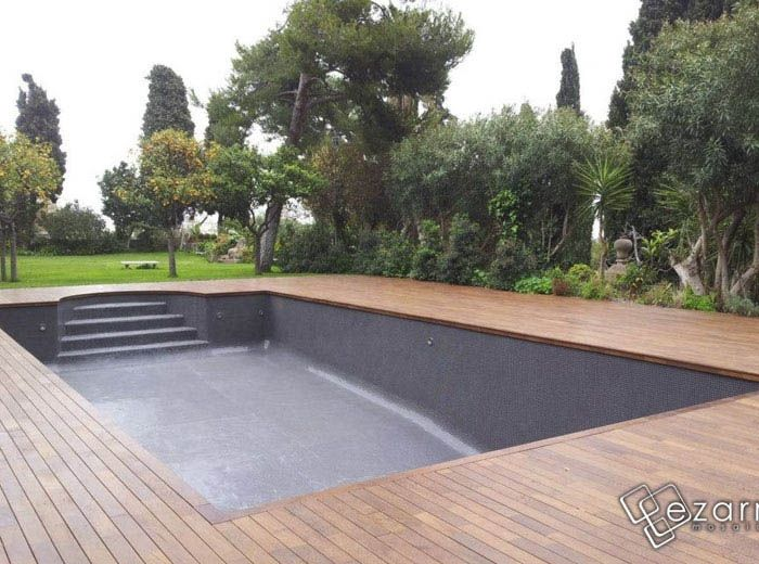 25 best ideas about carrelage piscine on pinterest for Piscine carrelage gris