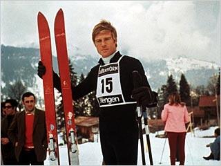 Robert Redford in 'Downhill Racer', 1969