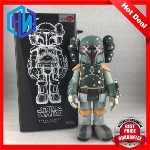 New-Arrival-Kaws-Companion-Boba-Fett-Toys-25cm-Action-Figure-With-Original-Box