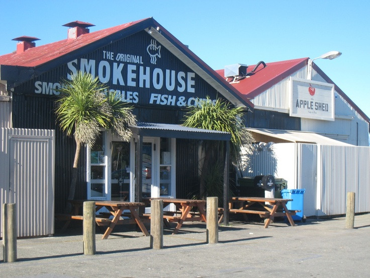 The famous Smokehouse fish 'n chip shop!