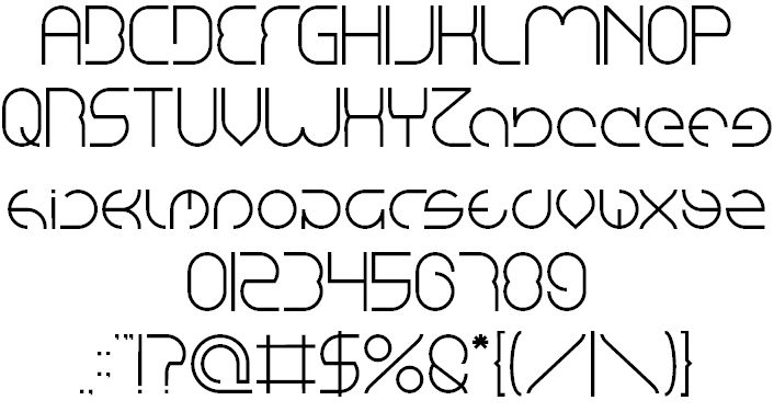 Image for emmilia font