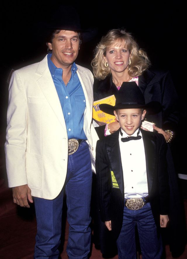 George and Norma Strait and son