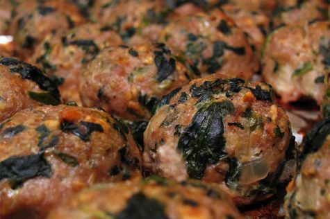 Baked Turkey Meatballs with Spinach + 10 Ideas for Meatballs - Home Cooking Memories