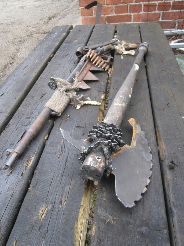 59 best Homemade Zombie Weapons images on Pinterest
