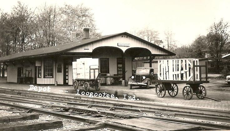Depot In Loogootee Indiana Southern Indiana Archives
