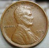 1909 Wheat Penny (Coin)
