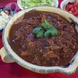 Mexicaanse kip mole uit de slowcooker @ allrecipes.nl