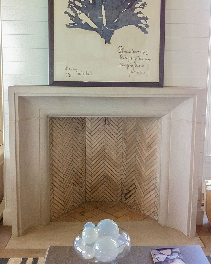 Limestone Fireplace Surround In A Beach Home Mehr - 17 Best Ideas About Limestone Fireplace On Pinterest Stacked