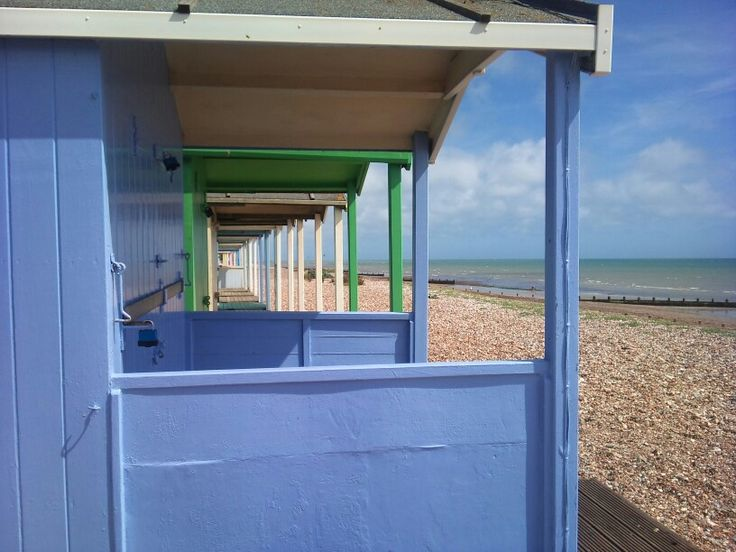 Beach Huts, Rustington Beach, West Sussex