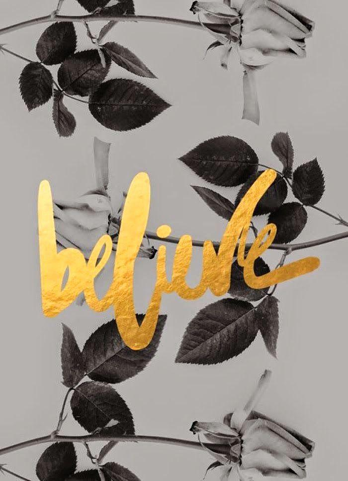 GOLD, Believe...