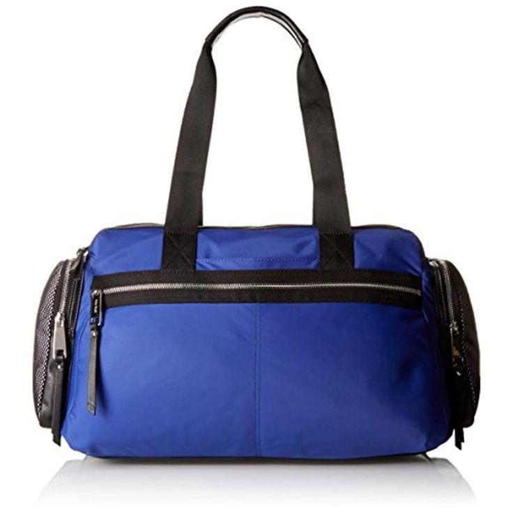 Nine West Womens Sport Boost Organizational Lined Duffle Bag