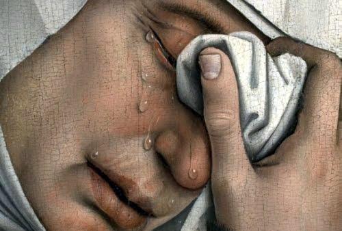 Descent from the Cross, detail - Rogier van der Weyden (1399/1400-1464)