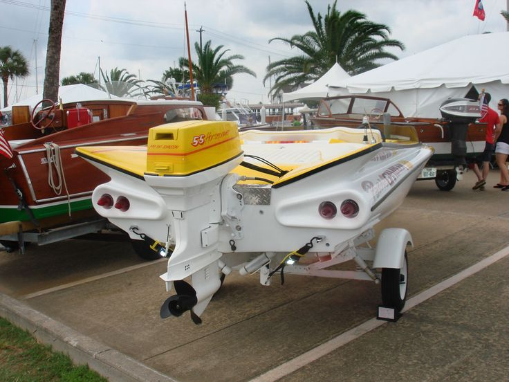 1950S Boats With Fins   ... Boat Club Comes Back In Full Force In Texas!   Classic Boat News