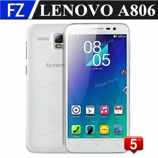 """==> reviewsOriginal Lenovo A806 A8 5.0"""" IPS HD MTK6592 Octa Core Android 4.4 4G LTE FDD wcdma Unlocked Mobile Phone 2GB RAM 16GB ROM 13MP-in Mobile Phones from Phones"""