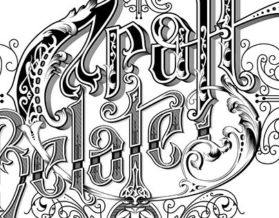 "Check out new work on my @Behance portfolio: ""Craft Related - handlettered logo""…"