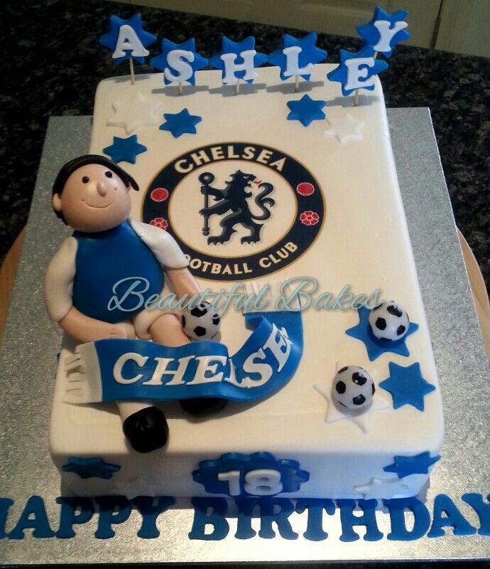 Chelsea Fc Birthday Cake Decorations