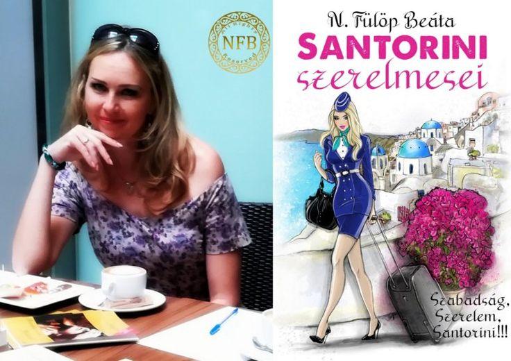 """Vigyázat! Nagyon kalandos, nagyon szerelmes, és nagyon görögös! Függőséget okoz! Prológus az """"Élménykönyvhöz"""" Santorinit meglátni, és szerelembe..."""
