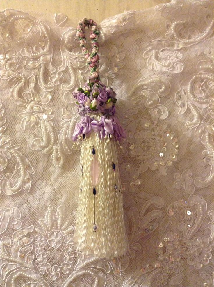 handmade tassel for Maggie White for her birthday - 2016
