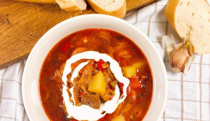 Recept: Stevige Goulash soep