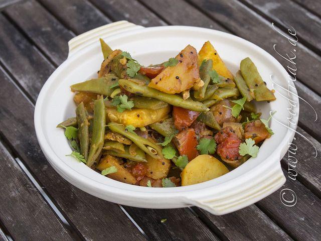 Grüne-Bohnen-und-Kartoffel-Curry – Foodfreak