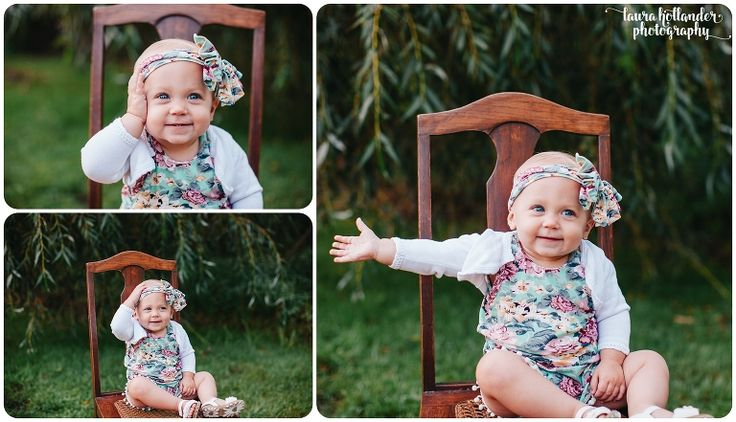 One Year photos with Blaire~ Rockford, MI -Laura Hollander Photography- peek -a-boo baby- one year milestone photos