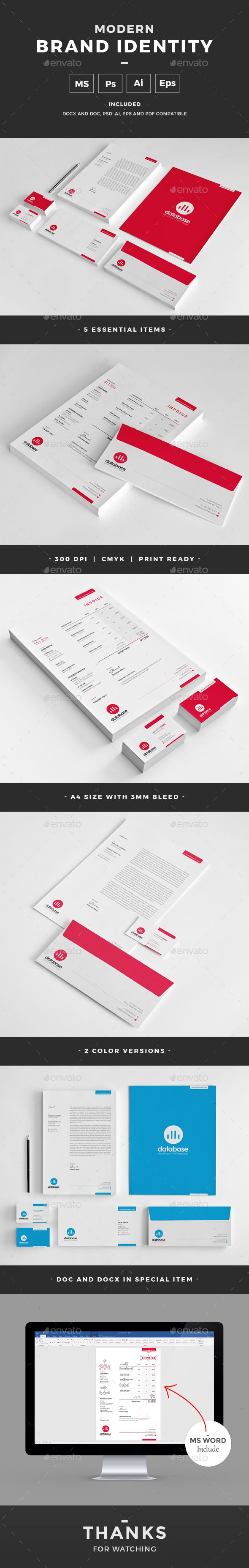 265 best Corporate Identity Templates images on Pinterest ...