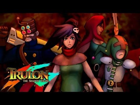 Trulon: The Shadow Engine - Steam Trailer  Trulon - The Shadow Engine, developed by Kyy Games, is a role-playing game following the adventures of a young monster hunter called Gladia. It is available to play on Steam for PC.  Subscribe to us on YouTube Gaming! http://gaming.youtube.com/gamespot  Visit all of our channels: Features & Reviews - http://www.youtube.com/GameSpot Gameplay & Guides - http://www.youtube.com/GameSpotGameplay Trailers - http://www.youtube.com/